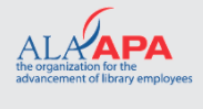 Logo for the organization for the advancement of library employees